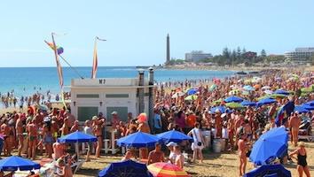 playa de ingles party
